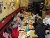 La sera del 16 in pizzeria