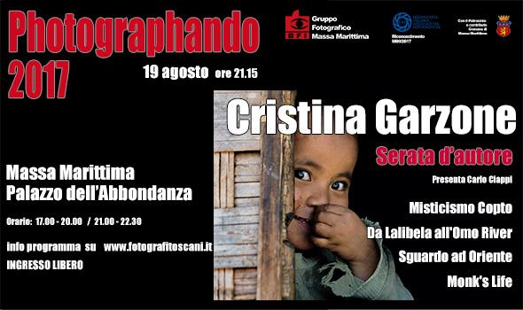Cristina Garzone Serata d'Autore