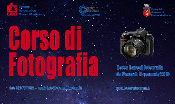 Corso di Fotografia  2019